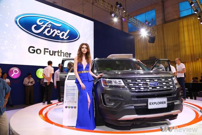Ford ra mắt Explorer hoàn toàn mới tại triển lãm Ô tô Việt Nam 2016