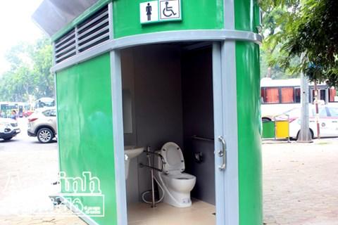 1.000 nhà vệ sinh công cộng như thế này sẽ được lắp đặt trên toàn Hà Nội