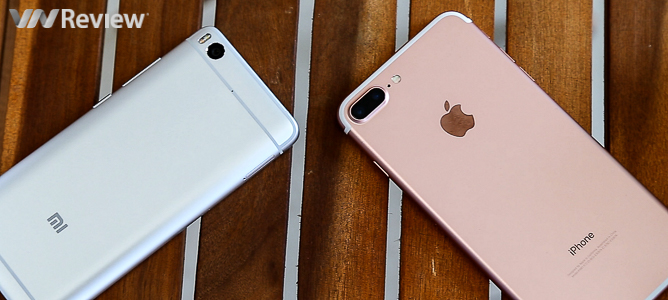 Đọ hiệu năng: Xiaomi Mi 5s bẹp như gián trước iPhone 7 Plus