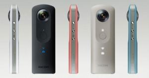 Ricoh ra mắt Theta SC: Chụp ảnh và quay video 360 độ chất lượng cao