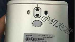ZTE Axon 7 Max lộ ảnh camera kép, cài sẵn Android 7.0