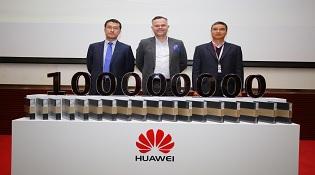 Huawei đã bán ra hơn 100 triệu smartphone trong 2016