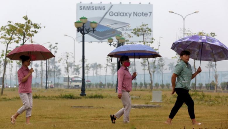 Công nhân Samsung Việt Nam tự tin về khả năng vượt qua cơn bão Note 7
