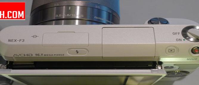 Lộ hình ảnh của Sony NEX-F3