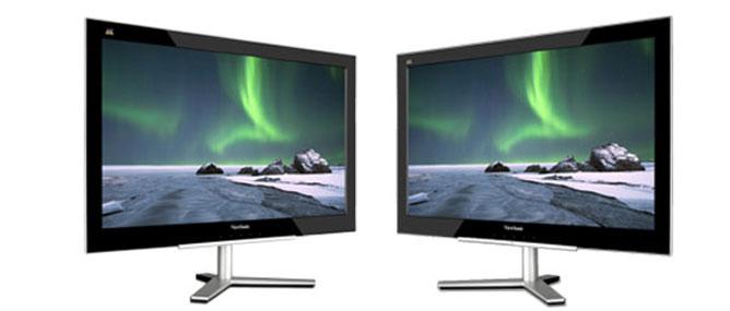ViewSonic ra mắt màn hình siêu mỏng VX2460h-LED