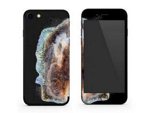 """Hài hước skin iPhone lấy cảm hứng từ """"Galaxy Note 7"""" phát nổ"""