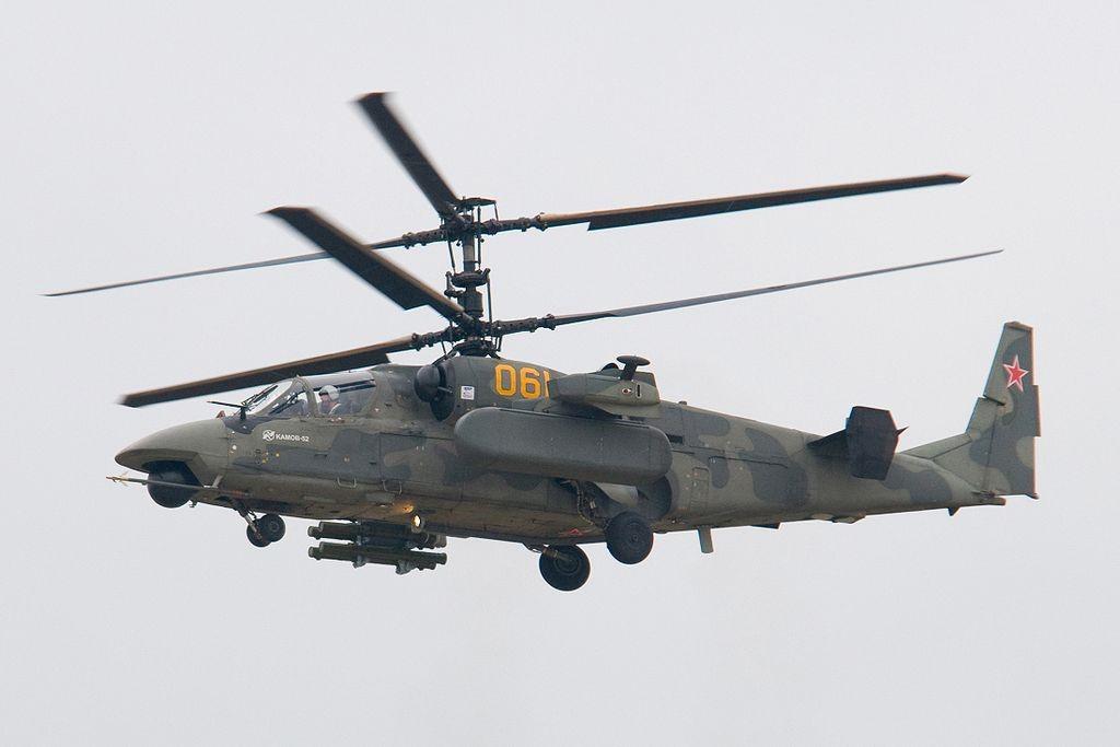 Russian Air Force Ka-52, Chiếc Máy Bay Có Hai Cánh Quạt Chính Và Không Cần Cánh  Quạt Đuôi Nào (Nguồn Ảnh: Vlsergey / Wikimedia Commons)