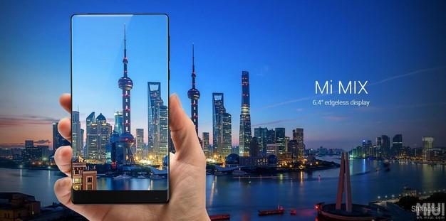 Xiaomi công bố smartphone viền cực mỏng Mi Mix