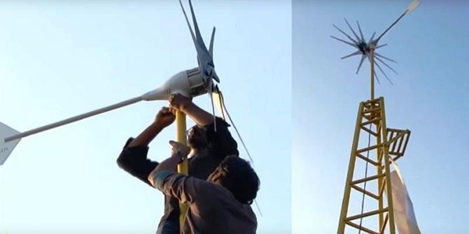 Thay vì mua iPhone, bạn có thể dùng tiền sắm tuabin gió này để cung cấp điện cho cả ngôi nhà