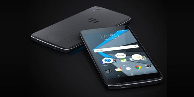 BlackBerry cho biết DTEK60 có thể đối đầu với iPhone 7 Plus và Google Pixel XL