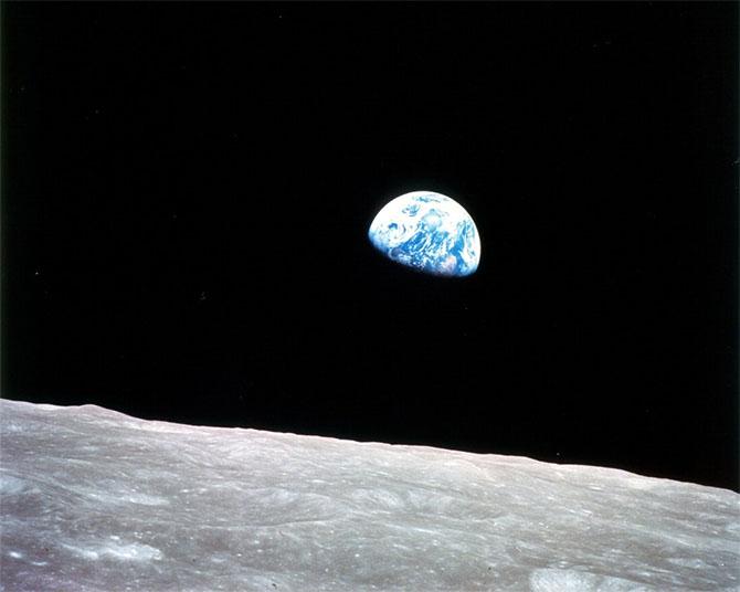 Đây là bức ảnh đầu tiên của Trái Đất