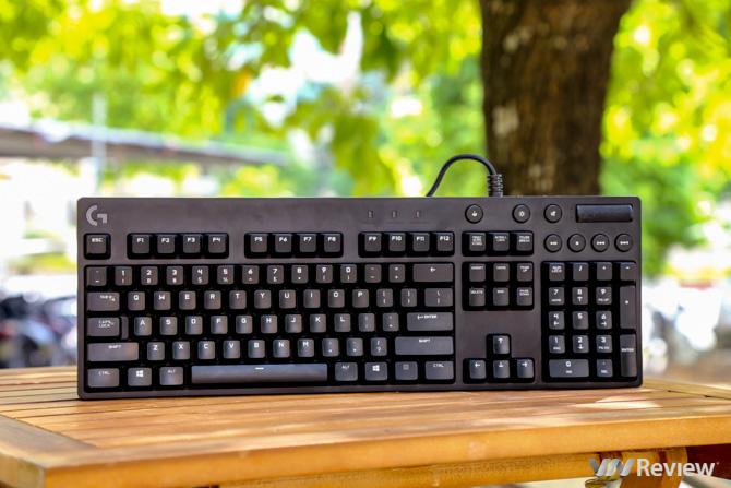 Đánh giá bàn phím Logitech G610 Orion Spectrum