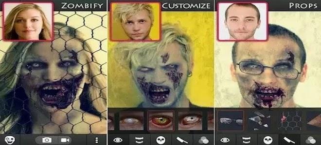 """2 ứng dụng giúp bạn hóa trang """"ma quái"""" đón Halloween"""