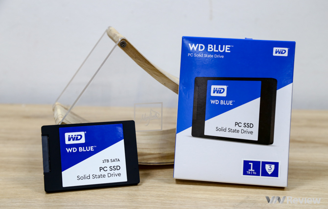 SSD của WD đã về Việt Nam