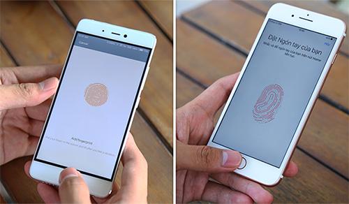 Đọ thử cảm biến vân tay Xiaomi Mi 5s và iPhone 7 Plus: Sense ID đối đầu Touch ID 2.0