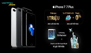 Viettel cho đặt trước iPhone 7, giảm ngay 1 triệu đồng