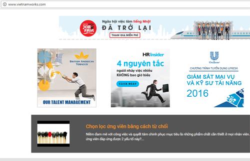 VietnamWorks: dữ liệu 4 triệu khách hàng an toàn