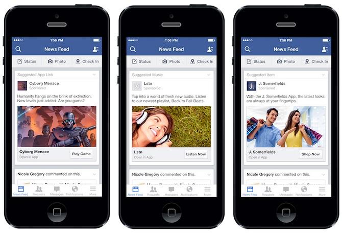 Facebook cán mốc 1 tỷ người dùng di động
