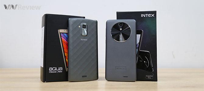Tặng bạn đọc 2 điện thoại Intex Aqua Aura 2GB và Intex Classic mini của Ấn Độ