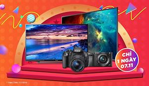 """Tiki mở """"ngày hội Tivi máy ảnh"""": giá cực ưu đãi, miễn phí vận chuyển và đổi trả tới 30 ngày"""