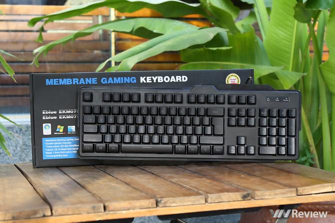 Review bàn phím E-Blue EKM075 Pro: có LED 3 màu, chống nước