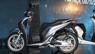 Honda SH 2017 giá 68 triệu đồng, bản ABS 76 triệu đồng