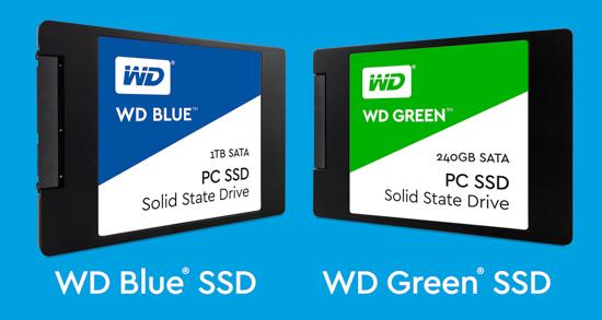 WD tung khuyến mãi nhân dịp ra mắt SSD Green và Blue
