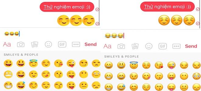 Cách thay thế emoji trên Facebook Messenger bằng hệ thống emoji của iOS