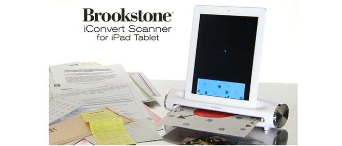 Đánh giá Brookstone iConvert Scanner dành cho iPad
