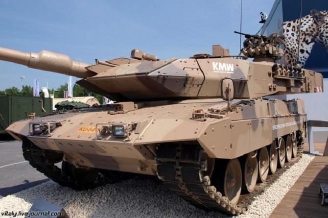 """""""Báo sa mạc"""" Leopard 2A7: chiến tăng chủ lực của quân đội Đức"""