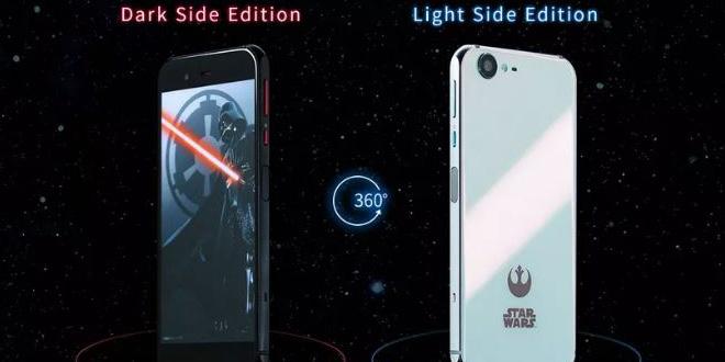Sharp giới thiệu smartphone Star Wars, cho người dùng chọn phe