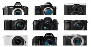 Top 19 máy ảnh mirrorless tốt và phổ biến