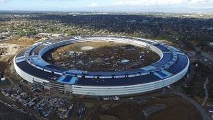 Chiêm ngưỡng trụ sở hình phi thuyền sắp hoàn thiện của Apple