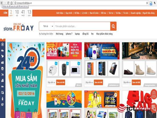 """Online Friday 2016: Hơn 60.000 sản phẩm """"khuyến mãi ảo"""" đã bị hạ"""