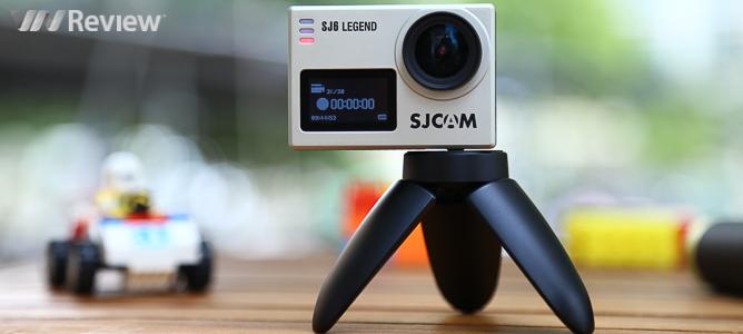 Đánh giá camera hành động SJCAM SJ6 Legend: 2 màn hình, quay 4K, 4 triệu đồng