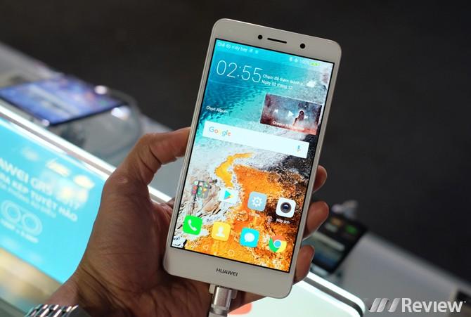Huawei GR5 2017 ra mắt với camera kép, giá 6 triệu đồng