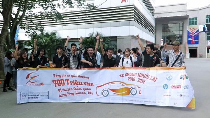 Cuộc đua số 2016: Hơn 500 sinh viên đăng ký lập trình cho xe đua không người lái