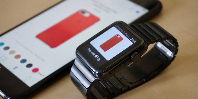 Đã có thể mua phụ kiện ngay trên Apple Watch