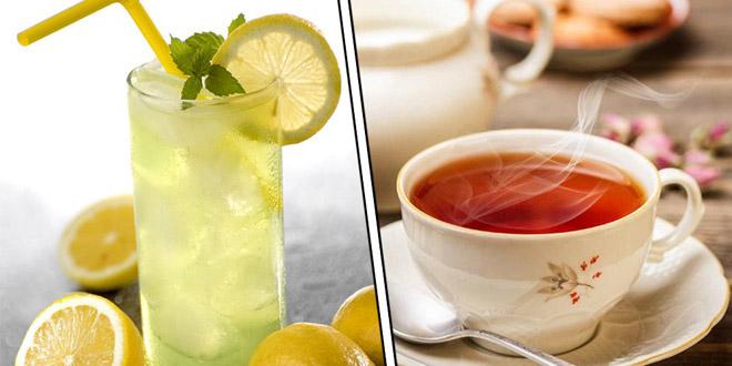 Tại sao ly chanh đá ấm lên nhưng trà nóng lại lạnh đi khi để ngoài trời?
