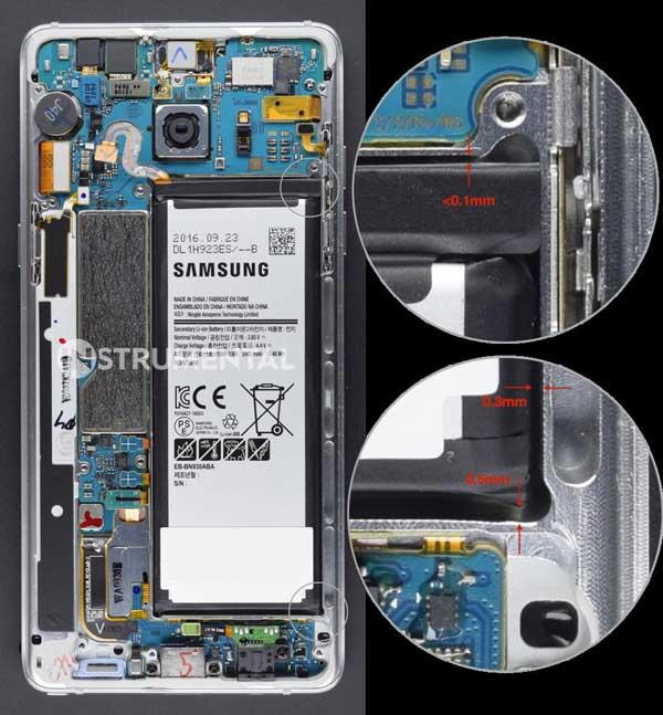 Galaxy Note 7 bị nổ có thể do thiết kế pin quá mạo hiểm