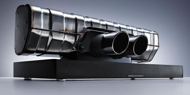 Porsche 911 Soundbar, bộ loa đẳng cấp từ ống khói siêu xe Porsche 911 GT3
