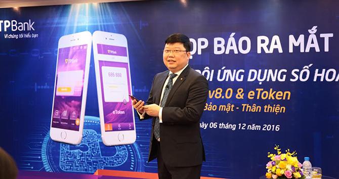 """TPBank ra mắt bộ đôi """"ngân hàng số"""" eBank 8.0 và eToken"""