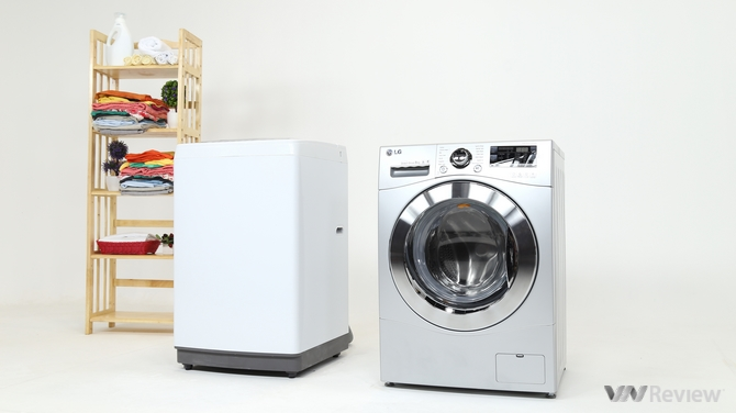 Bài viết so sánh về máy giặt lồng ngang và lồng đứng bạn nên mua loại nào?