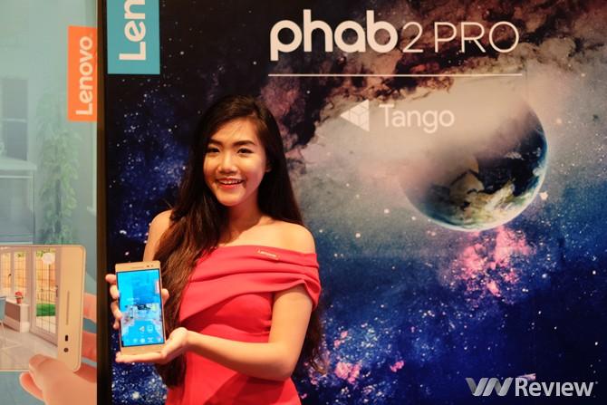 Smartphone hỗ trợ Tango đầu tiên trên thế giới ra mắt tại Việt Nam
