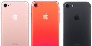 Sẽ có iPhone 7s và 7s Plus màu đỏ?