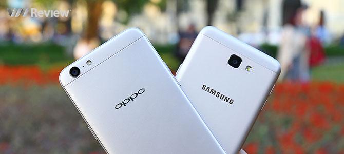 Đọ hiệu năng Galaxy J5 Prime và Oppo A39: Samsung đuối hơn