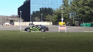 NVIDIA cũng thử nghiệm xe tự lái