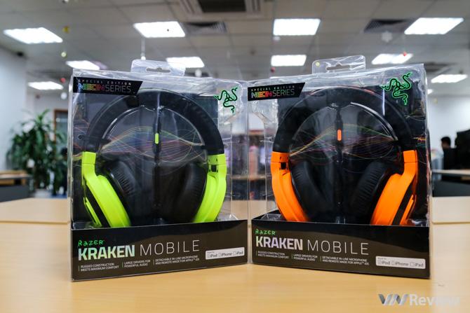 Tặng bạn đọc bộ đôi tai nghe Razer Kraken Mobile
