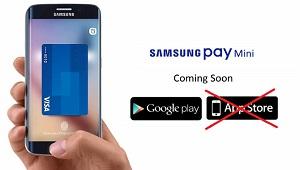 App Store chặn ứng dụng thanh toán của Samsung
