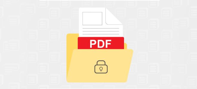 3 cách đặt mật khẩu bảo vệ file PDF